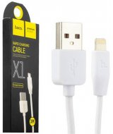 Кабель USB Hoco X1 Rapid charging cable Lightning 3M White